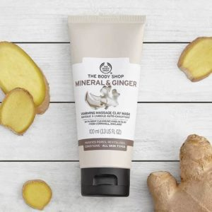 The Body Shop Mineral And Ginger Clay Mask 100ML Price In BD