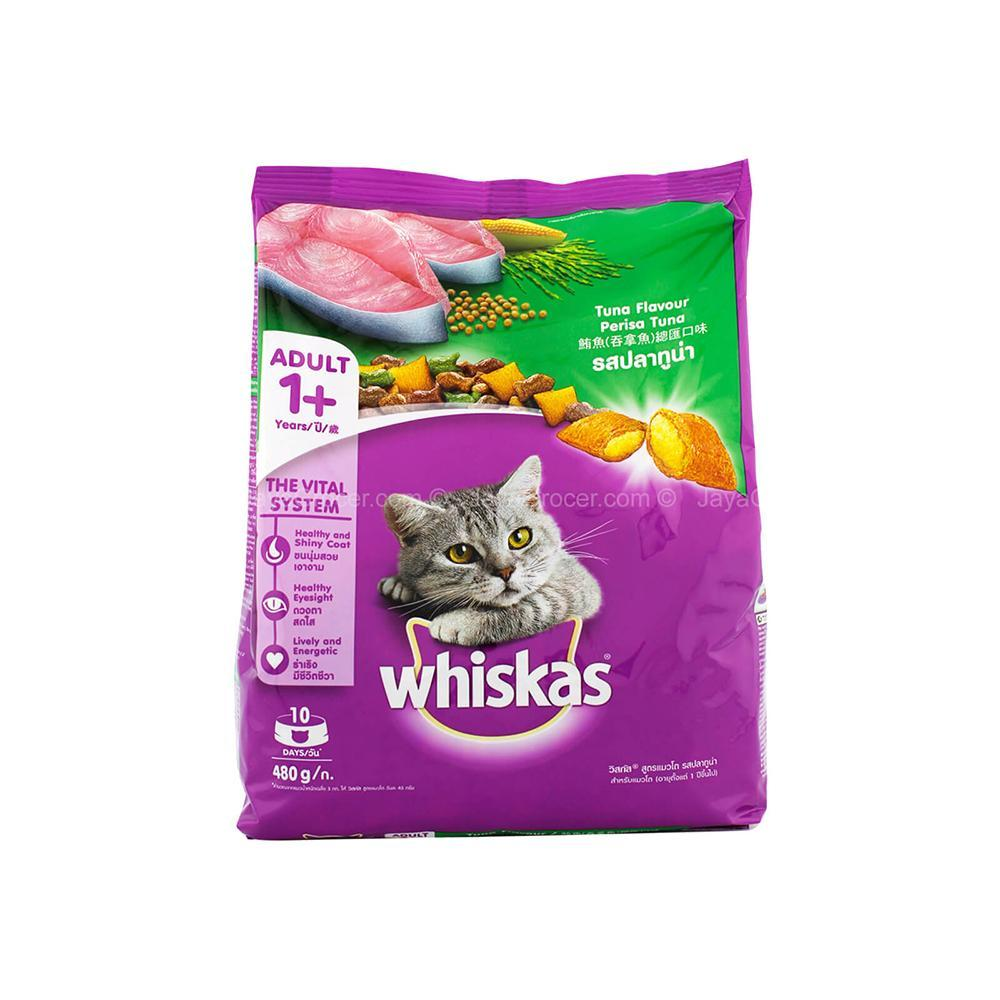 CAT WHISKAS TUNA Flavour (Adult 1+ years)