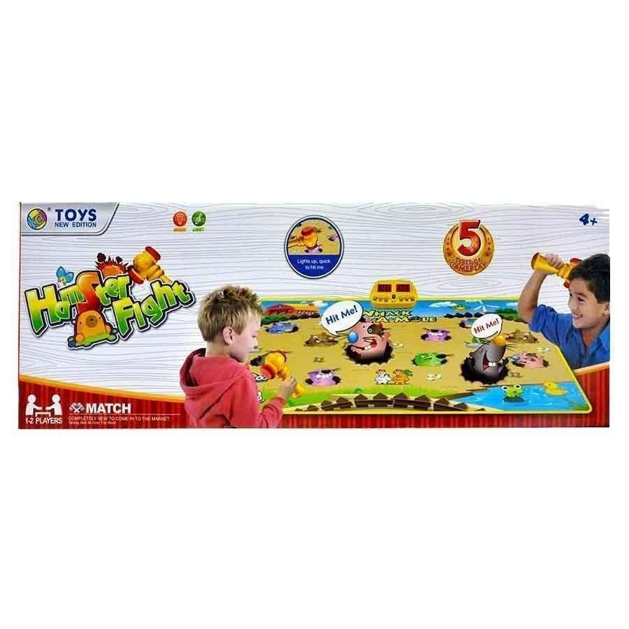 Baby Knocking Toy Whac-A-Mole , Kids Play Hamster Intelligence Game