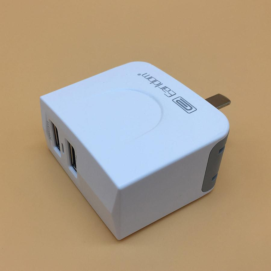 Charger adapter (2 in 1), Double USB Charger adapter, 2.4A dual USB Adapter, fast charger, adapter, charging adapter