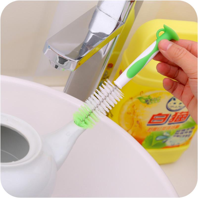 Handle with suction tube brush,Clean brush