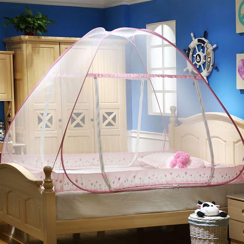 Folding Free Stand High Quality Double Door Mosquito Net