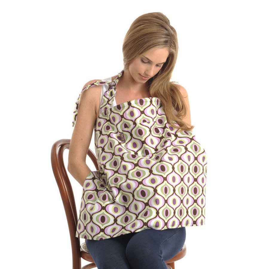 Nursing Cover for Breastfeeding-Breathable Cotton Apron