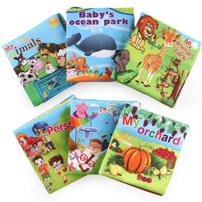 Super Cute Cloth Book,Toy for Baby Early Brain Development