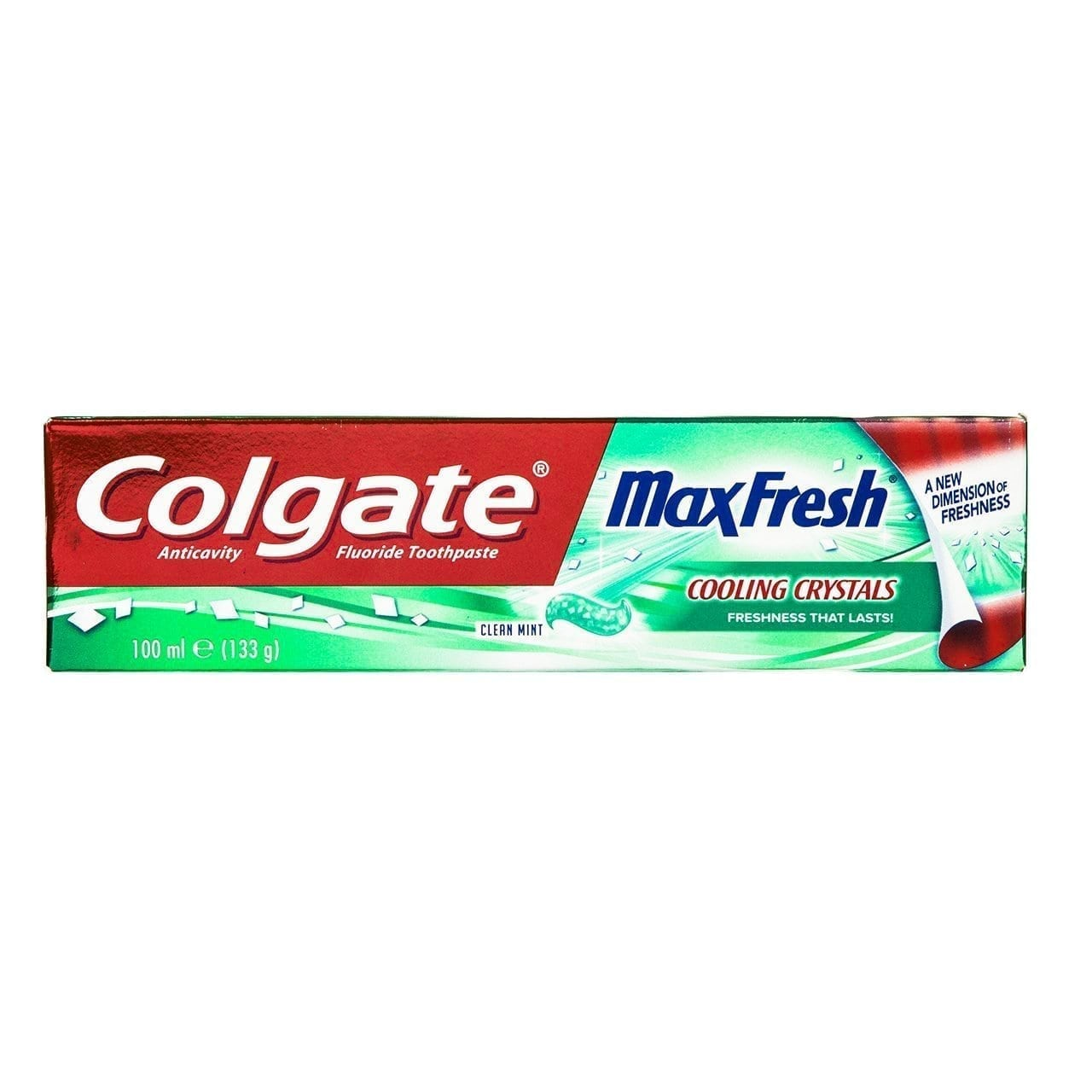 Colgate Max Fresh Whitening Toothpaste with Breath Strips - Clean Mint