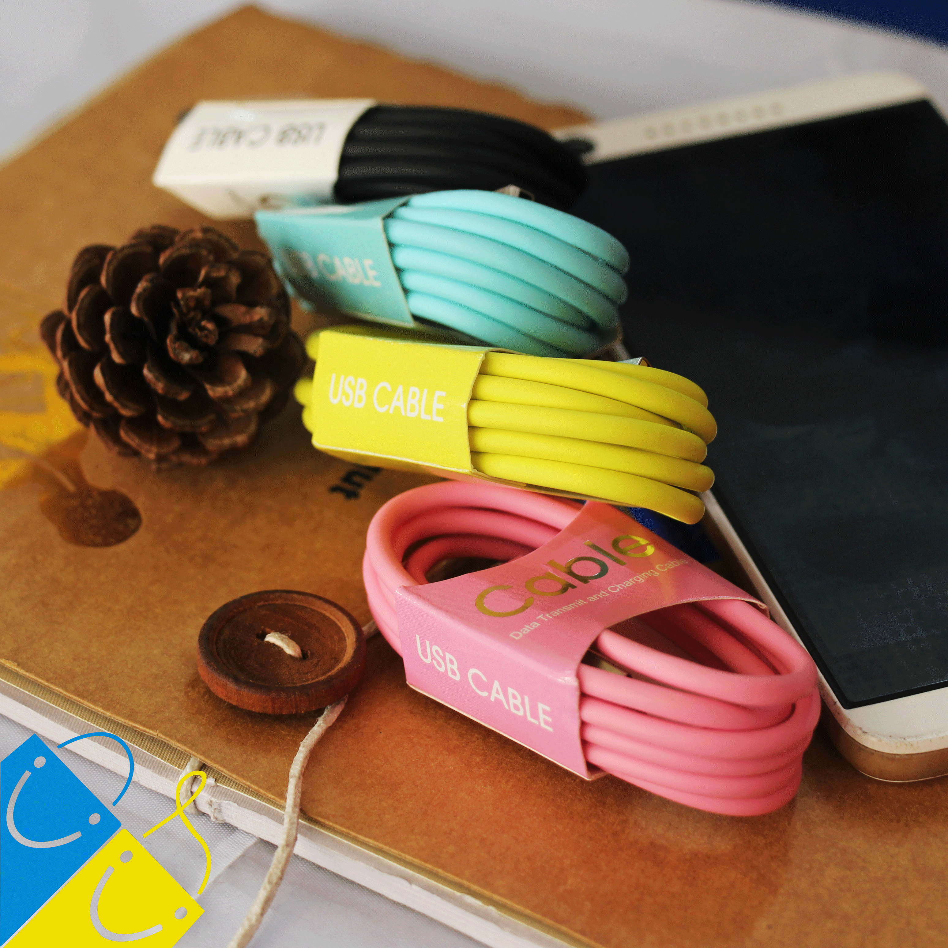 Lightning Cable, Data Transmition Cable, Cable for iPhone