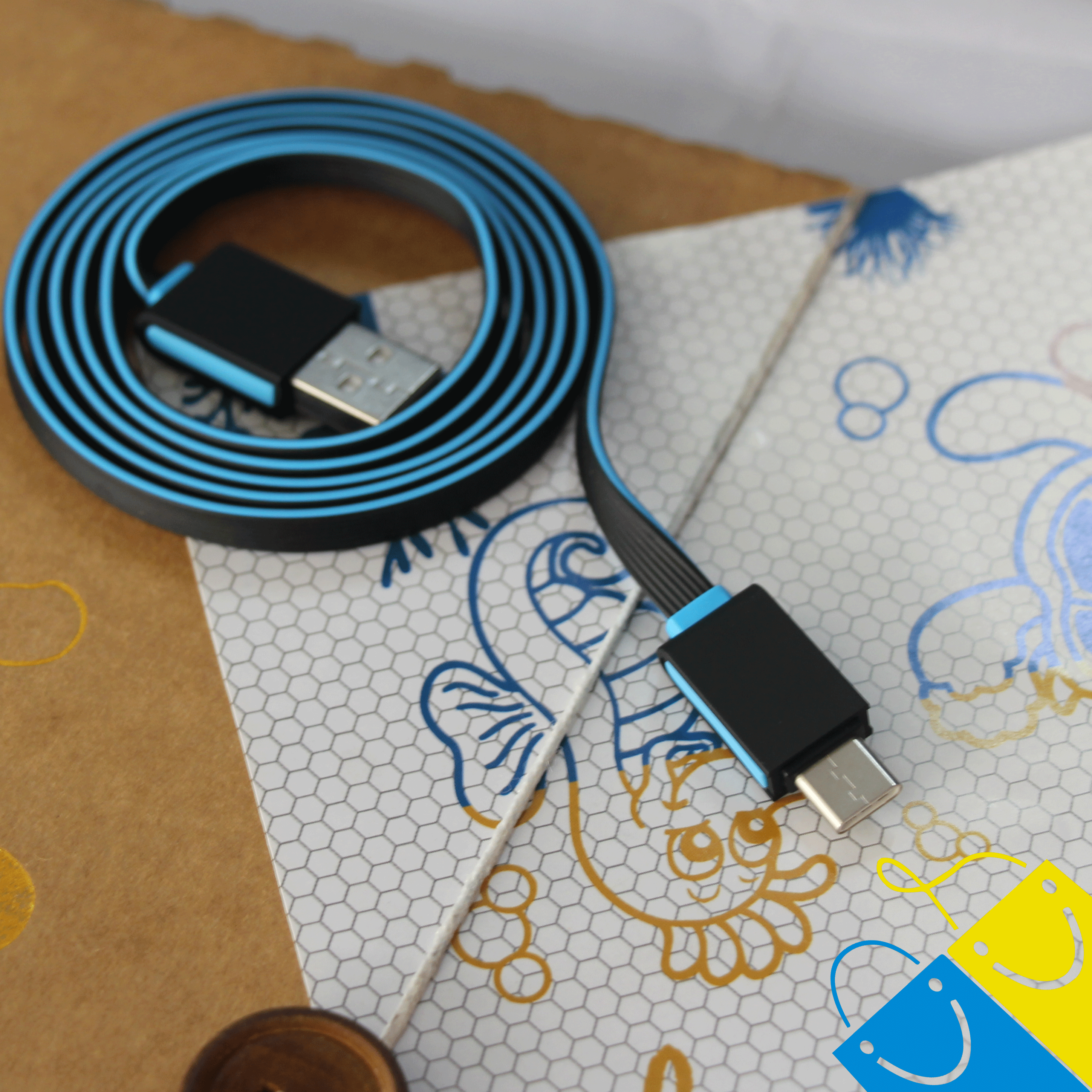 High speed USB type C cable