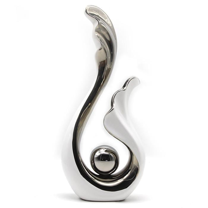 Sea wave show pieces for home decoration
