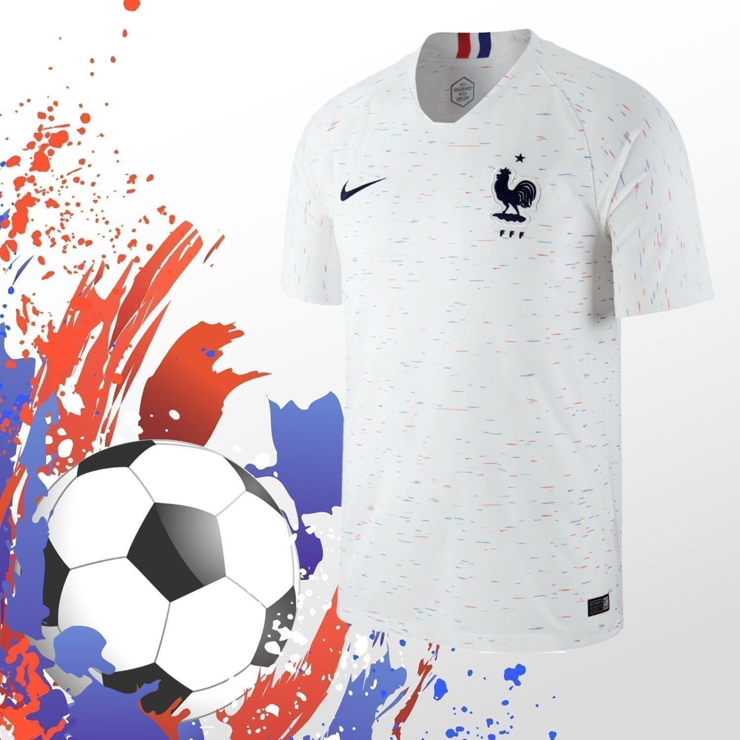 France Home Jersey (Chinese Premium)