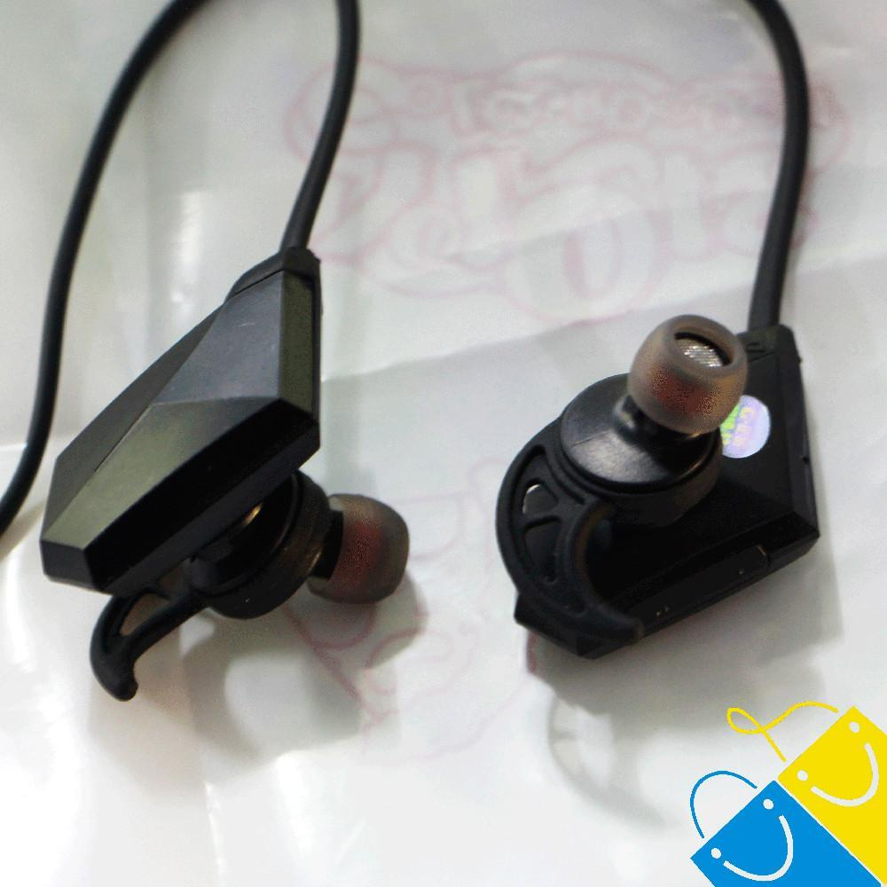Wireless Bluetooth V4.1 Noise Cancelling Sport Stereo In-Ear Headset with APT-X/Mic for Smartphones