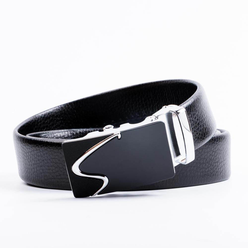 GENT'S LEATHER BELT WITH BUCKLE