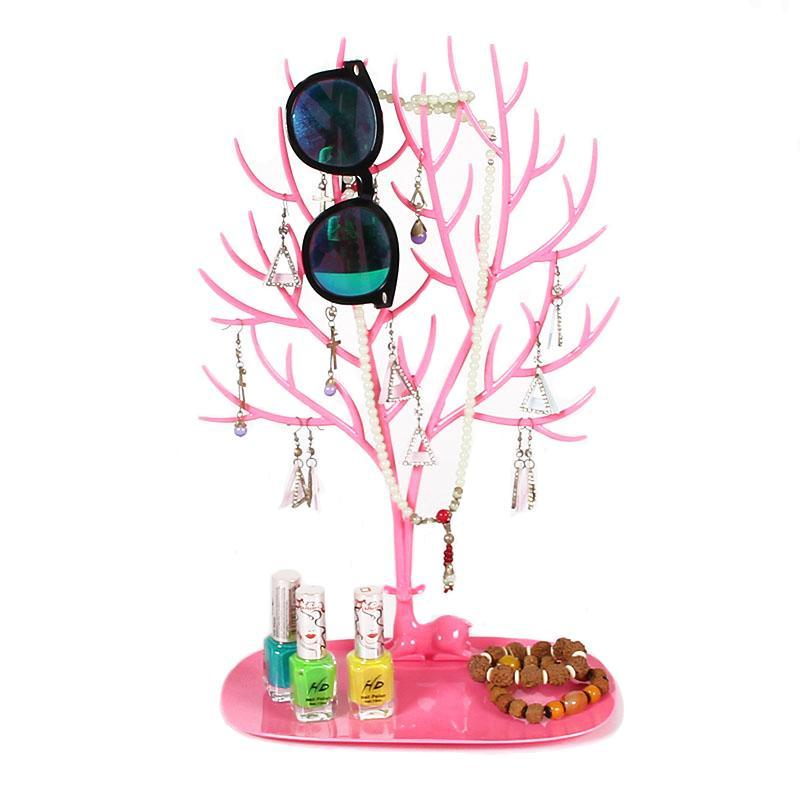 Jewelry  Display Stand Holder Organizer Tower for Earring Necklace Ring