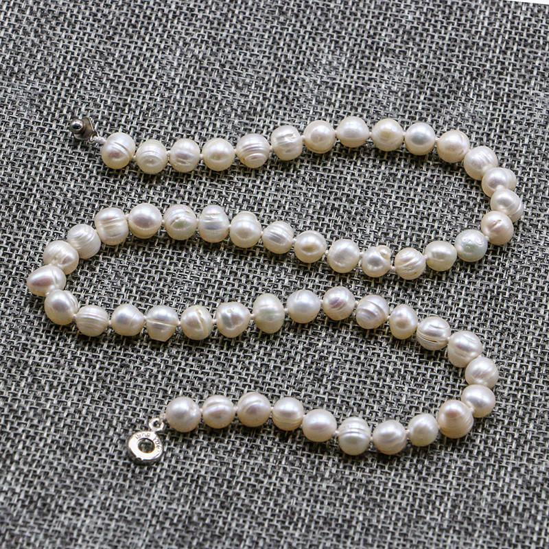 Pearl necklace,lady necklace